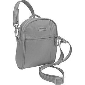 Metrosafe 100 GII Anti-Theft Hip & Shoulder Bag Cool Steel