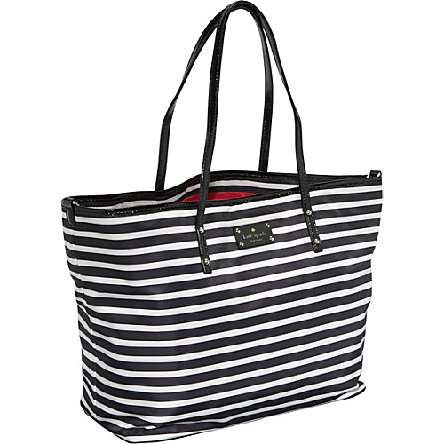 Black And White Striped Kate Spade Purse Best Image Ccdbb