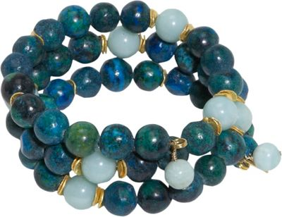 MINU Jewels Chryscolla Stack Bracelet