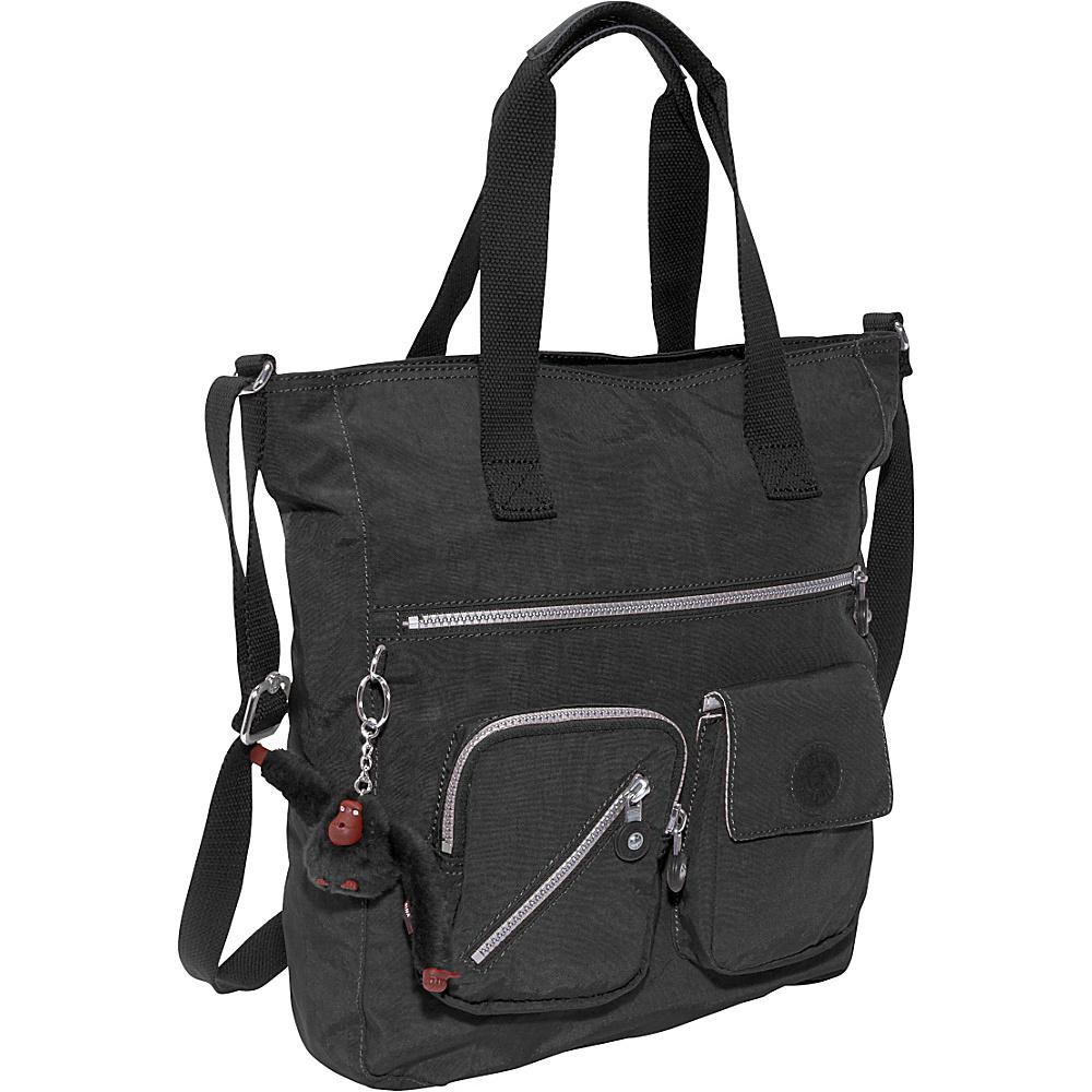Kipling Johanna Tote Bag Black - Kipling Fabric Handbags