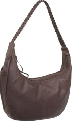 Derek Alexander EW 2 Compartment Top Zip - Brown
