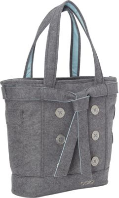 OGIO Hamptons Laptop Tote Light Gray Felt - OGIO Women's Business Bags