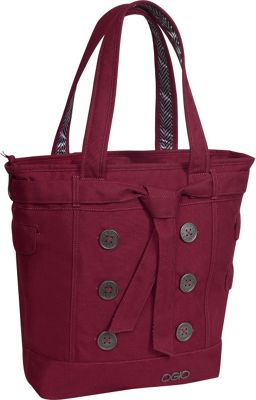 OGIO OGIO Hamptons Laptop Tote Wine - OGIO Women's Business Bags