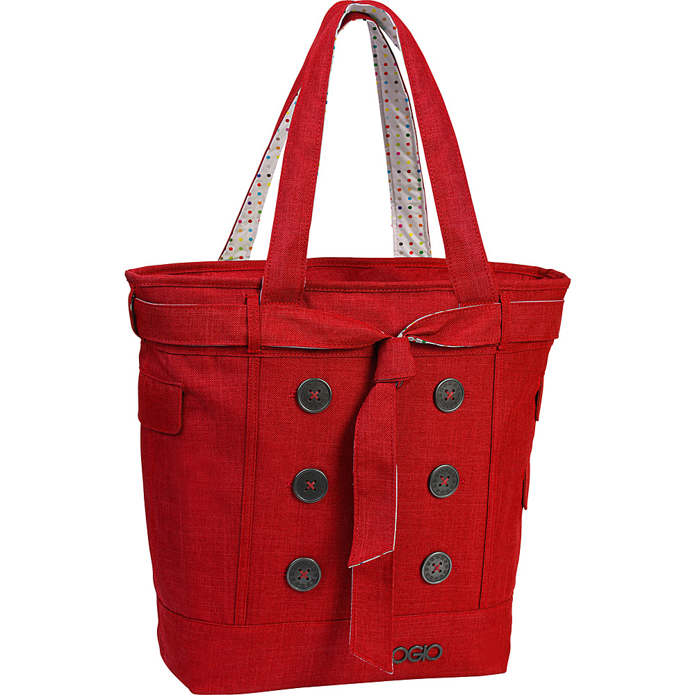 OGIO Hamptons Laptop Tote Red - OGIO Women's Business Bags
