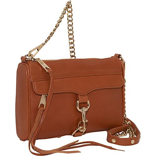 Rebecca Minkoff Mini MAC Clutch Almond - Rebecca Minkoff Designer Handbags