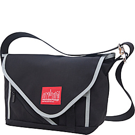 Flat Iron Messenger (SM) Black and Silver