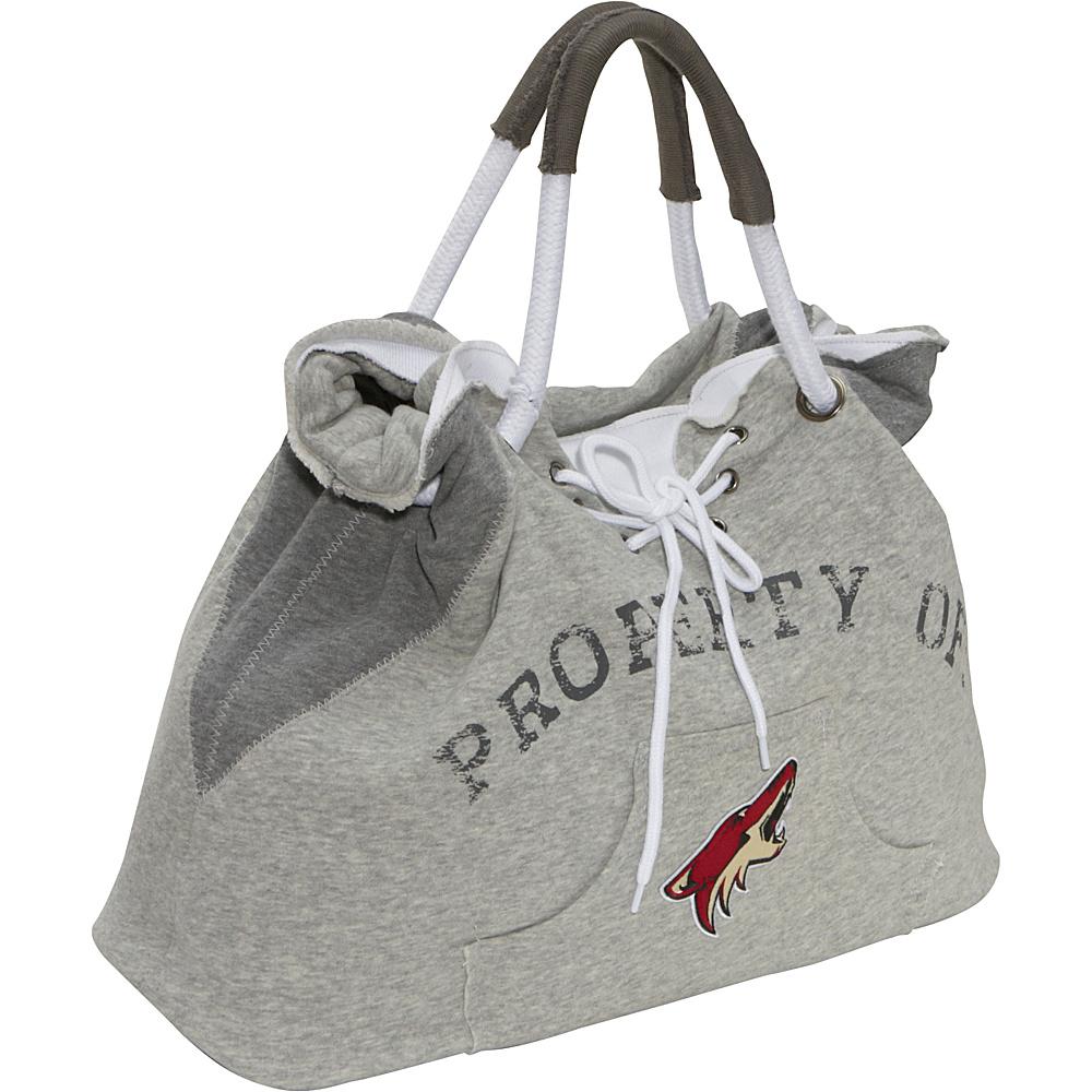 Littlearth NHL Hoodie Tote Grey/Phoenix Coyotes Phoenix Coyotes - Littlearth Fabric Handbags - Handbags, Fabric Handbags