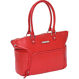 Front Zip Pocket Tote Lipstick