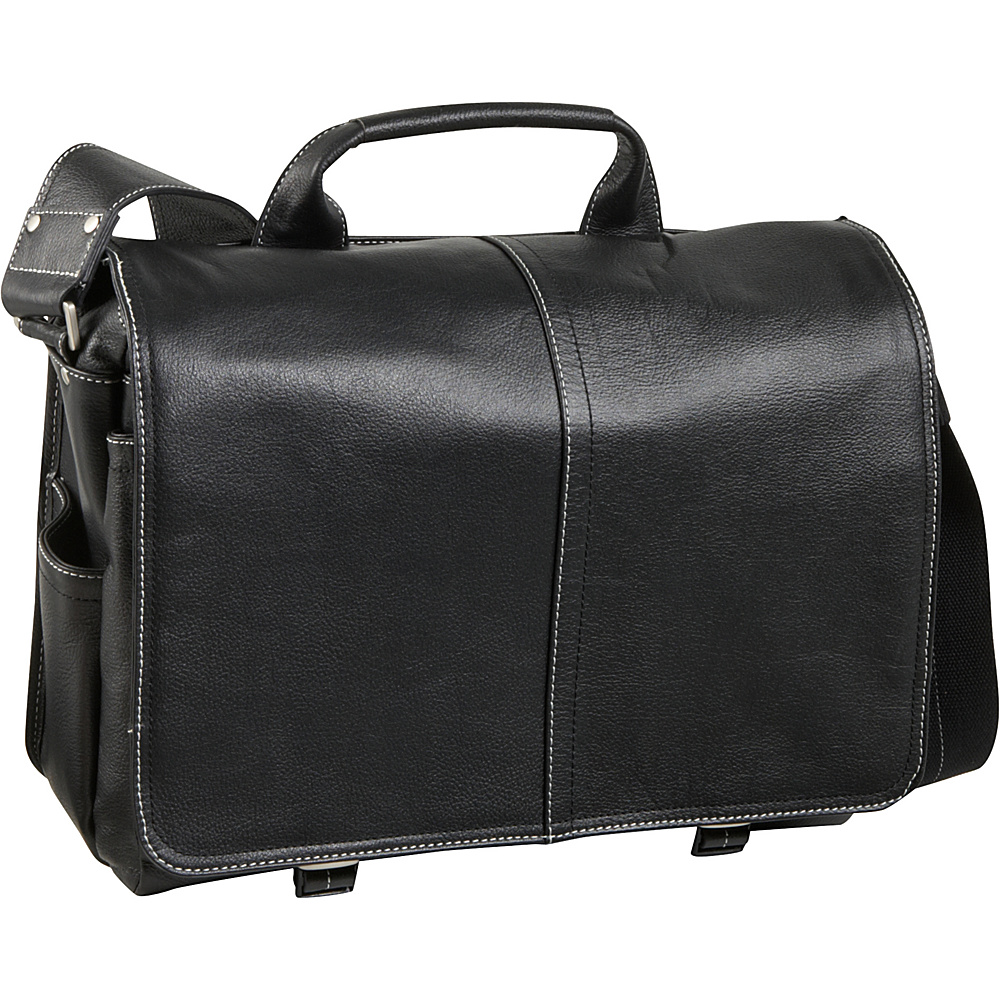 AmeriLeather Legacy Leather Woody Laptop Messenger Bag - Work Bags & Briefcases, Messenger Bags