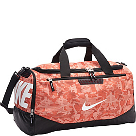Team Training Max Air Medium Duffel - Graphic Team Orange/Black/White-Camo Print