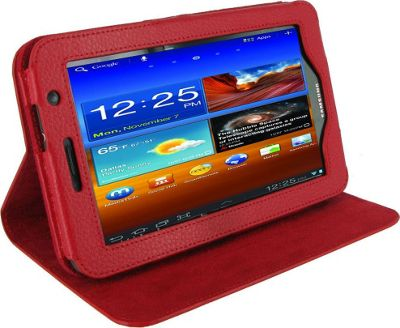 rooCASE Dual-View Leather Case for Samsung GALAXY Tab