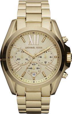 Michael Kors Watches Bradshaw Watch Gold - Michael Kors W...