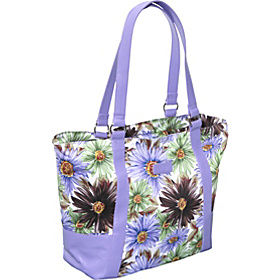Style 154 Lunch Bag Blue Floral