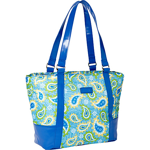 Sachi Insulated Lunch Bags Style 154 Lunch Bag Blue Paisley - Sachi Insulated Lunch Bags Travel Coolers