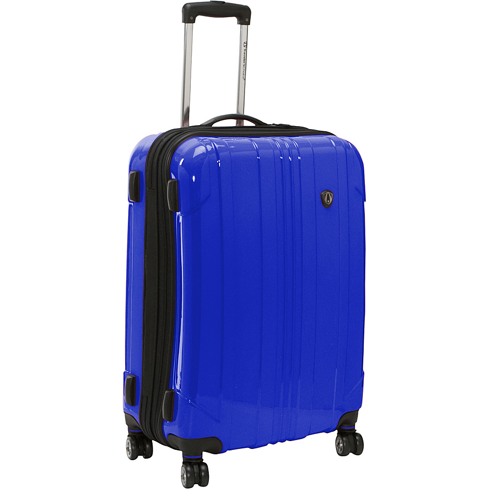 Travelers Choice Sedona 25 in. Hardside Spinner Navy - Travelers Choice Hardside Checked - Luggage, Hardside Checked