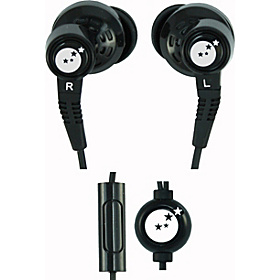 True Fidelity Sound Isolation Earphones Black