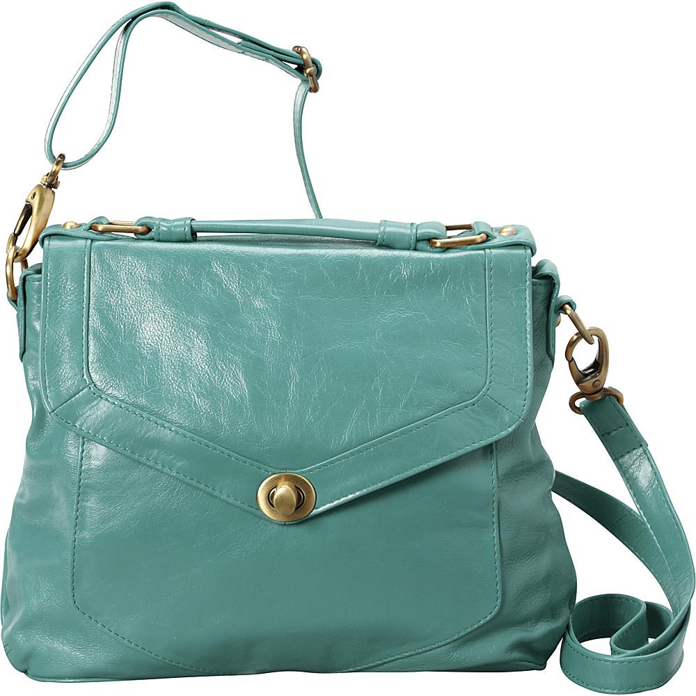 Latico Leathers Doyle Satchel Mint Latico Leathers Leather Handbags