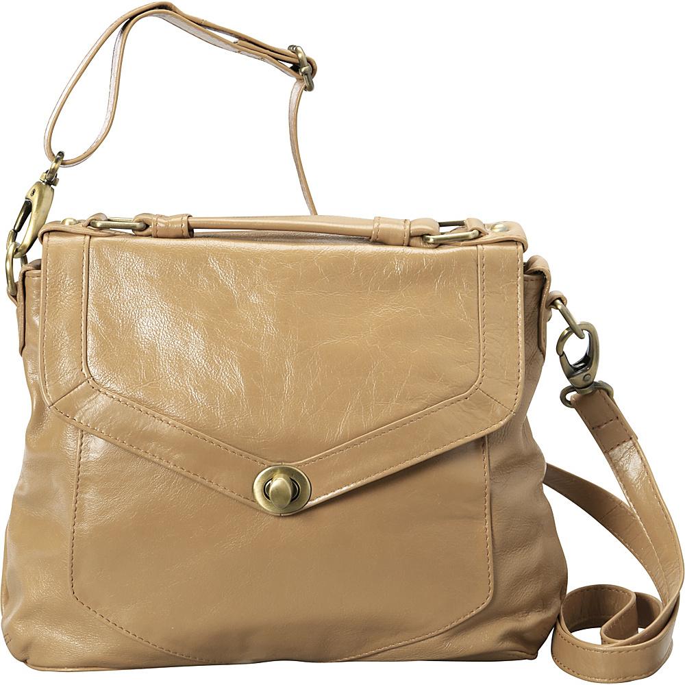 Latico Leathers Doyle Satchel Almond - Latico Leathers Leather Handbags - Handbags, Leather Handbags