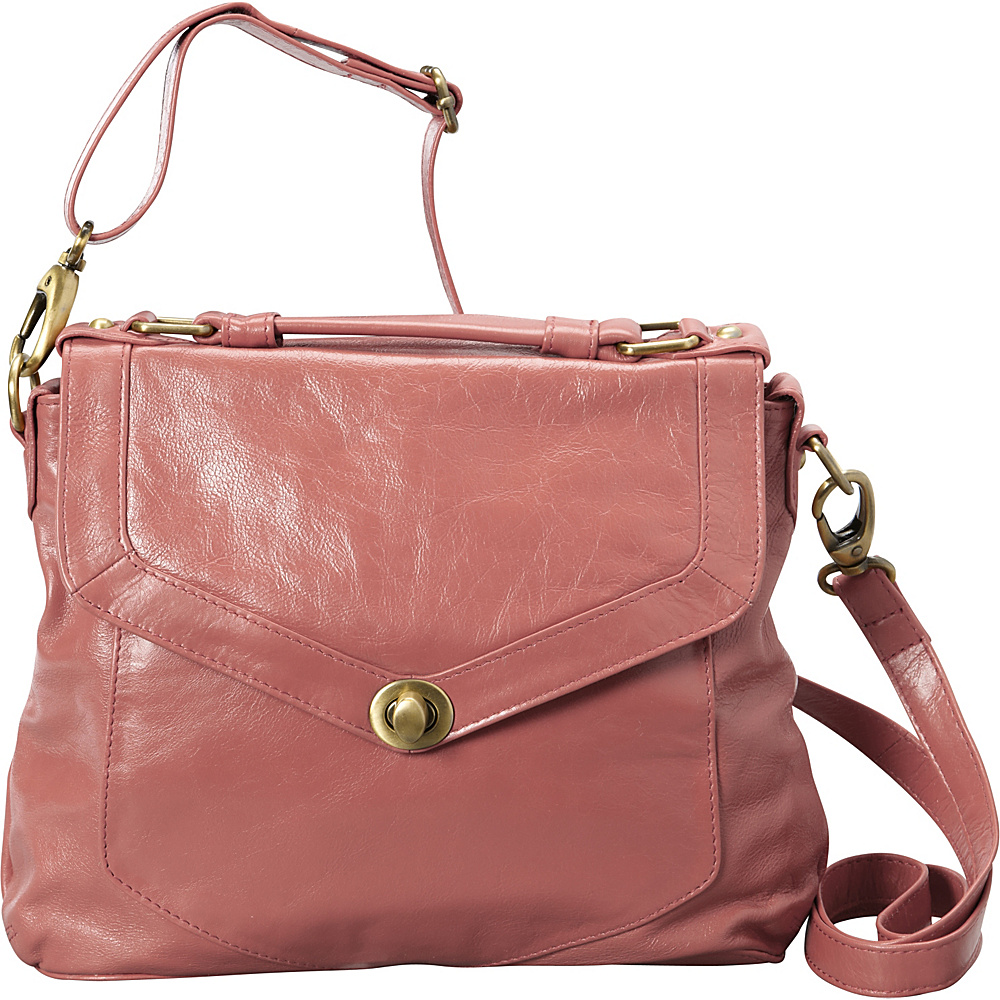 Latico Leathers Doyle Satchel Pink - Latico Leathers Leather Handbags - Handbags, Leather Handbags