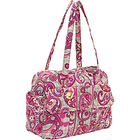 Baby Bag Paisley Meets Plaid