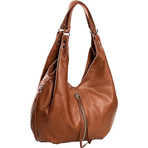 Jacki Easlick Jacki Slouchy Hobo Cognac - Jacki Easlick Leather Handbags
