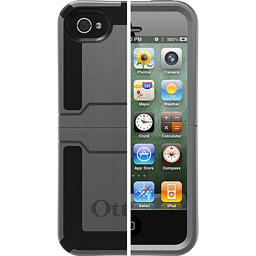 OtterBox Reflex Series Case for iPhone 4S - Gunmetal