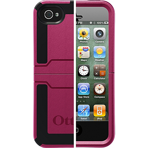 OtterBox Reflex Series Case for iPhone 4S - Deep Plum
