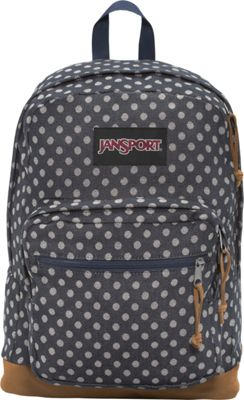 JanSport Right Pack Expressions Navy Twiggy Dot Jacquard Expressions - JanSport Business & Laptop Backpacks