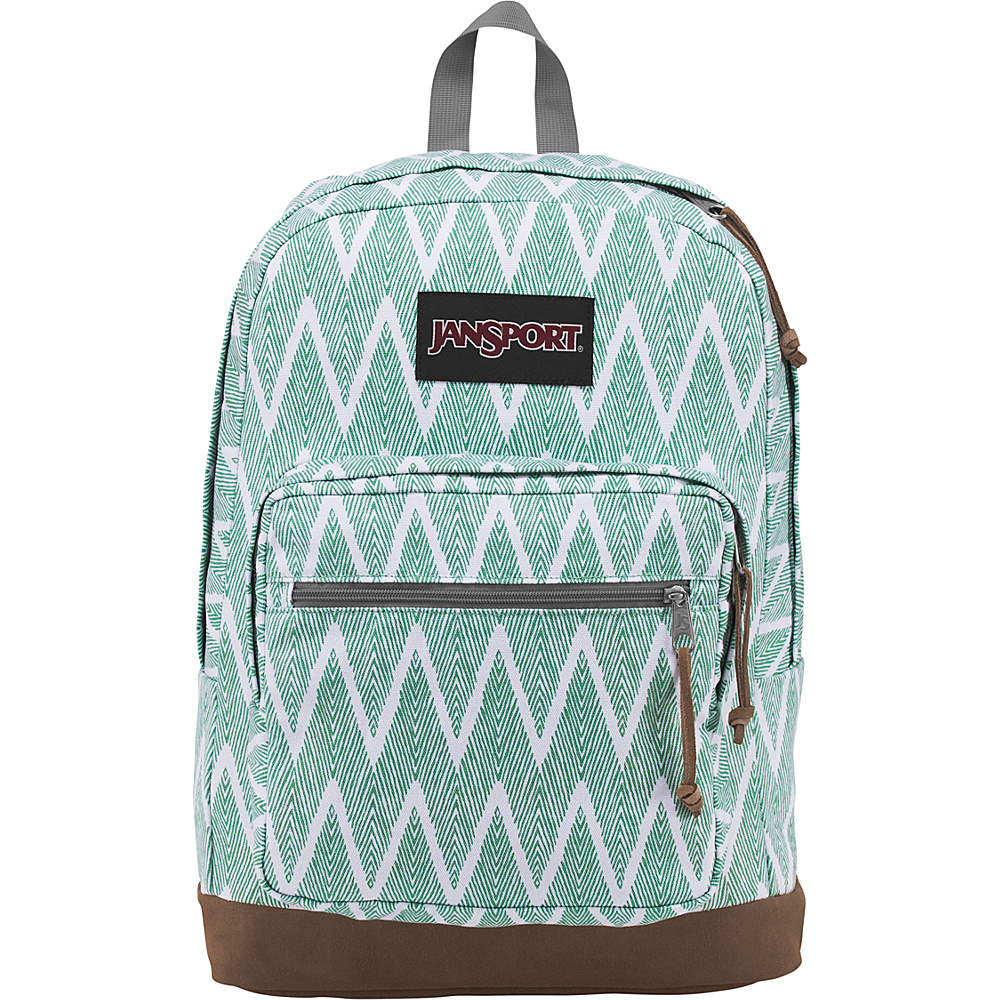 JanSport Right Pack Expressions Malachite Green Wavelength - JanSport Business & Laptop Backpacks