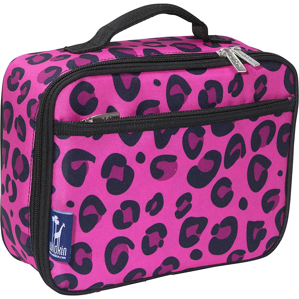 Wildkin Pink Leopard Lunch Box - Pink Leopard - Travel Accessories, Travel Coolers