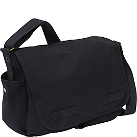 Classic Messenger Bag Black