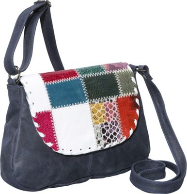 Global Elements Leather Cross Body Bag