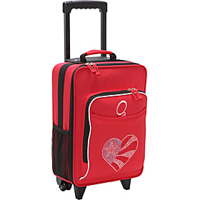 O3 Kids Flag Heart Luggage With Integrated Cooler Flag Heart