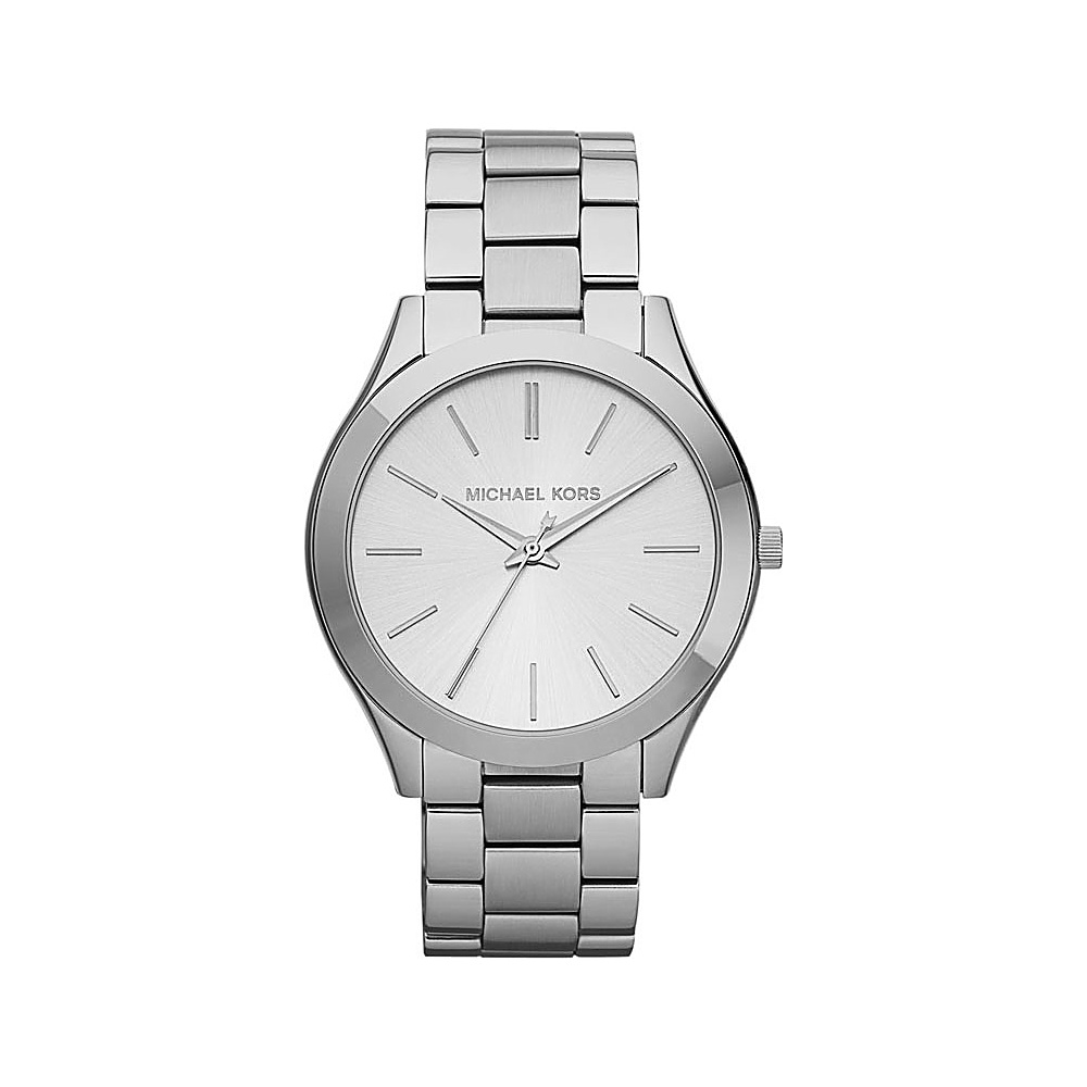 Michael Kors Watches Runway Silver