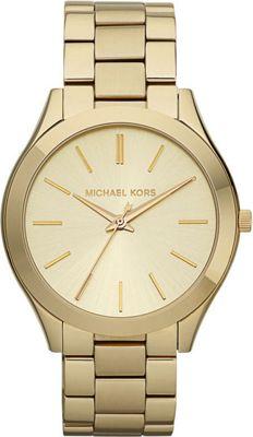 Michael Kors Watches Runway - Gold