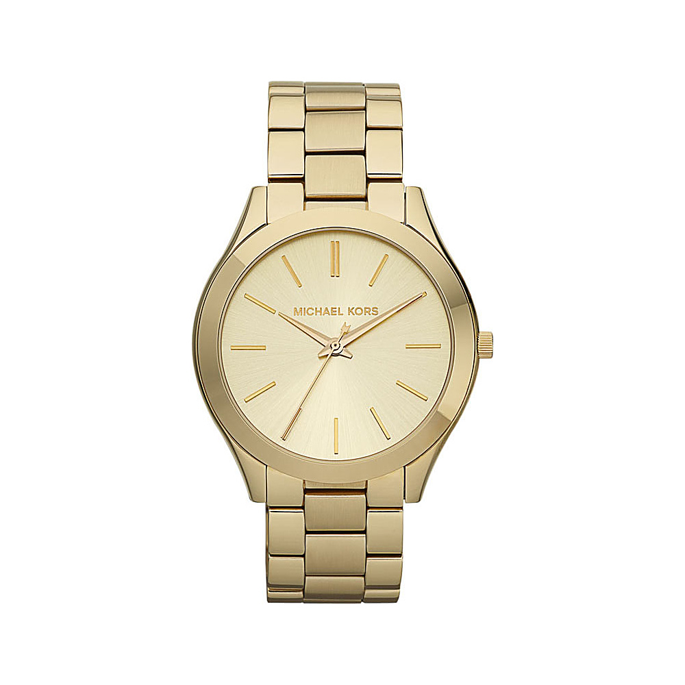 Michael Kors Watches Runway Gold