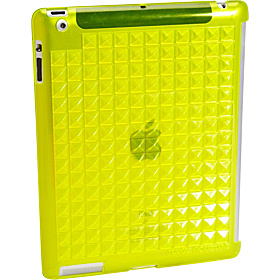 Pyramid Stud Ipad Case Lemon Drop