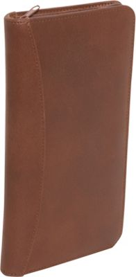 AmeriLeather Leather Document Case - Brown