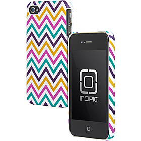 Custom Printed Feather for iPhone 4/4S Trippie Hippie