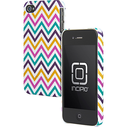 Incipio Custom Printed Feather for iPhone 4/4S Trippie Hippie - Incipio Personal Electronic Cases