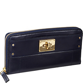 Amelia Zip Around Wallet Ink
