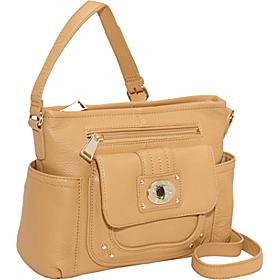 Turnlock LT Crossbody Camel