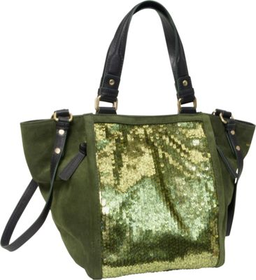 Nanette Lepore Handbags Material Block Sequin Small Tote