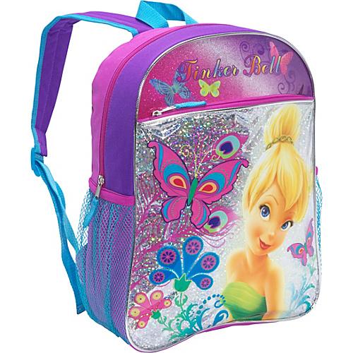 87aed2655490 Disney Tinkerbell Backpack Purple – Disney Kids  Backpacks