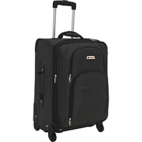 Illusion Spinner Carry-On Exp. Spinner Trolley Ebony Black