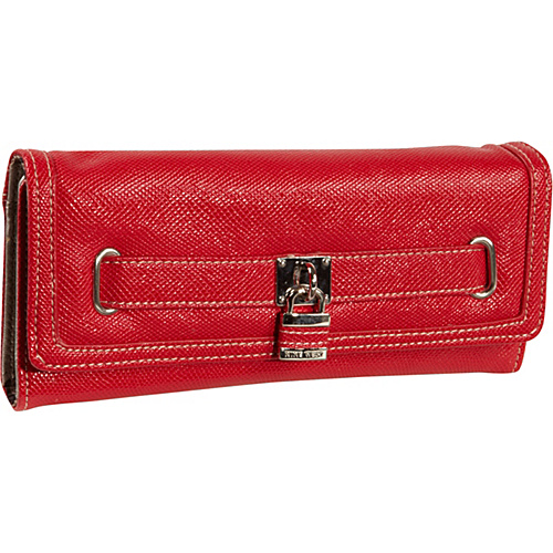 Nine West Handbags Eye Candy Trifold Ruby - Nine West Handbags Ladies Clutch Wallets
