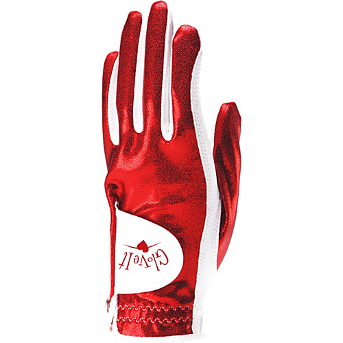Glove It Red Clear Dot Glove Red Left Hand Med - Glove It Golf Bags