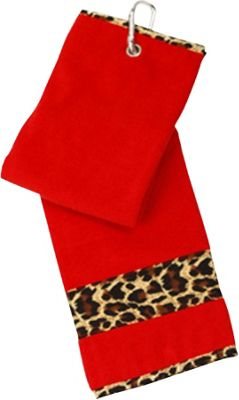 Glove It Leopard Golf Towel Leoaprd - Glove It Sports Accessories