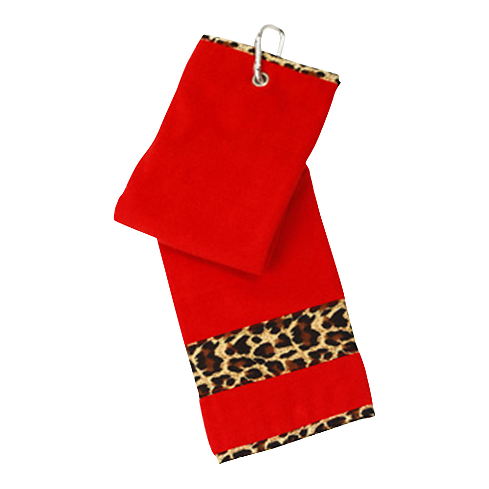 Glove It Leopard Golf Towel Leoaprd - Glove It Golf Bags