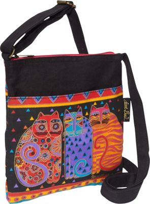 Laurel Burch Feline Friends Multi - Laurel Burch Fabric Handbags
